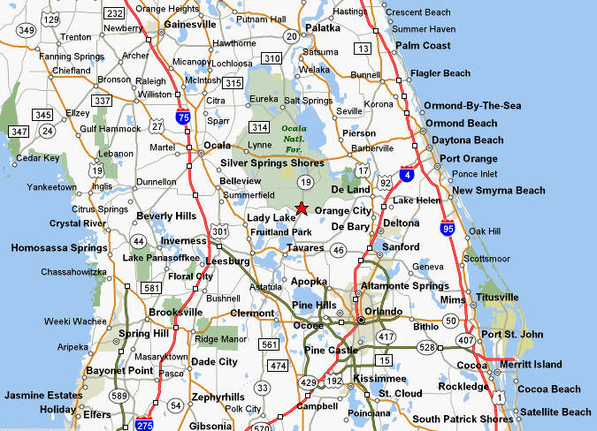 us 19 florida map